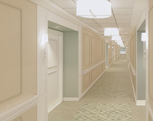 Monticello-Hallway
