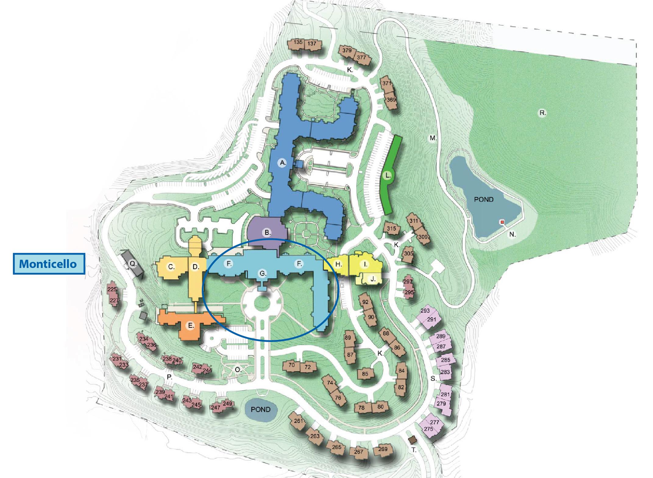 WCBR campus map Monticello Apartments Large-01